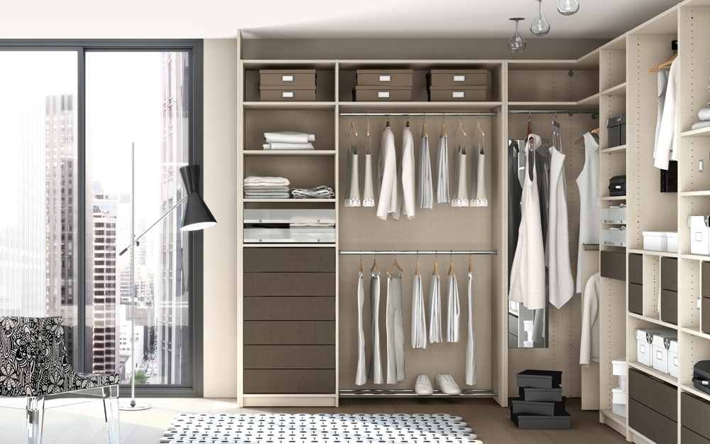 Bien connu Amenagement Dressing Ikea. Ikea Separateur De Piece Dressing On  RO21