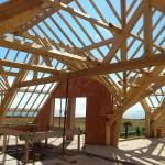 Charpente traditionnelle Maison neuve à Penestin Morbihan 56 (9)