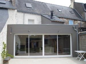 Extension Maison en Ossature Bois Morbihan 56